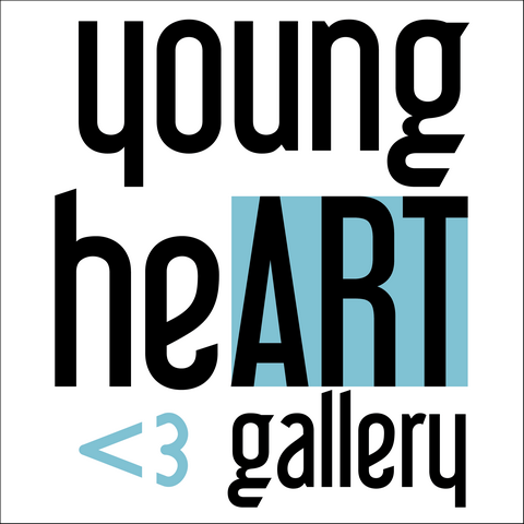 young heART gallery logo