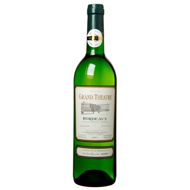 Bordeaux A.O.C. Grand Theatre Sauvignon Blanc, 0,75 l