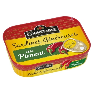 Sardinky s chilli  Connétable, 140g